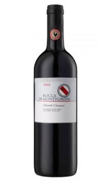 Chianti Classico 2013 - Montegrossi - Halbe Flashe