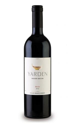 Yarden Merlot 2009 bottle